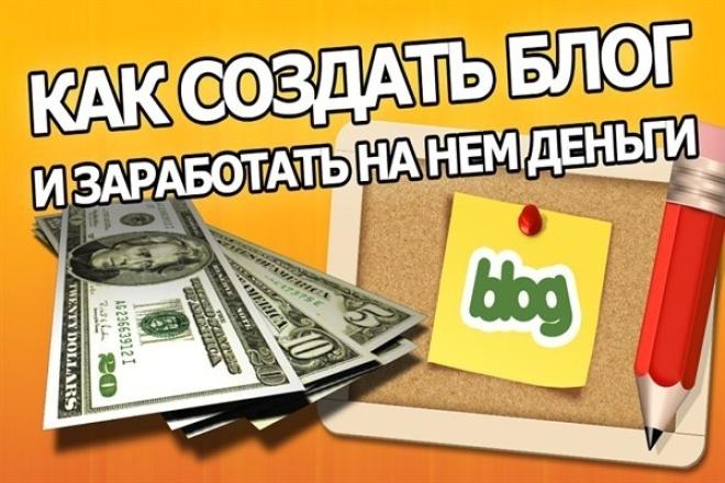 Создать сайт и получать деньги