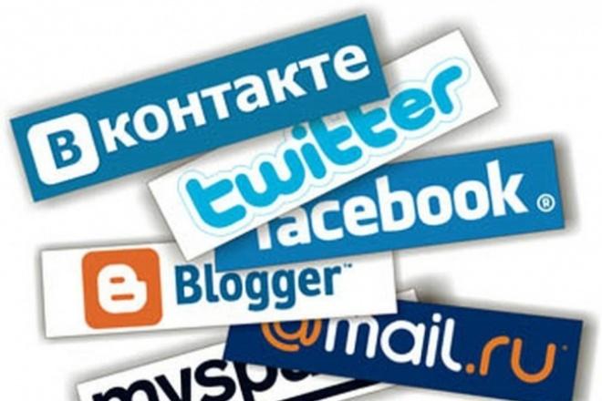 Авторизация через соц-сети на вашем сайте 1 - kwork.ru