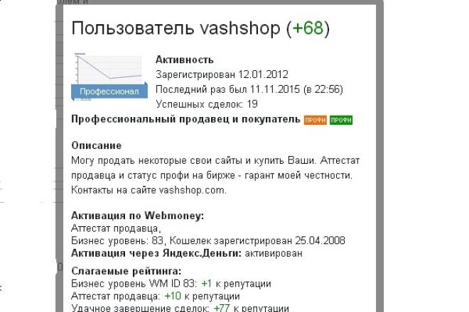 Учебная продажа сайта 1 - kwork.ru