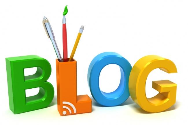 Напишу пост для блога 1 - kwork.ru