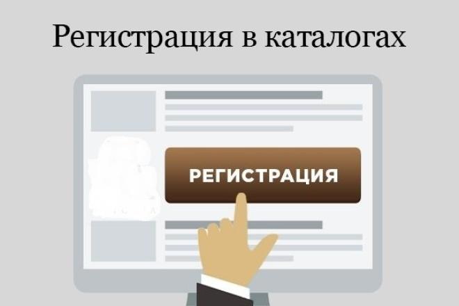 Регистрация вашего сайта в 24 каталогахДоски объявлений<br>Зарегистрирую ваш сайт в 24 каталогах с максимальным индексом цитирования. Все каталоги проверены специальными сервисами на отсутствие фильтров со стороны поисковых систем. Добавляется вручную. Зачем: Прирост ссылочной массы, увеличение ТИЦ, увеличение трафика на сайт, Вечные ссылки, улучшение ранжирования в поисковых системах.<br>
