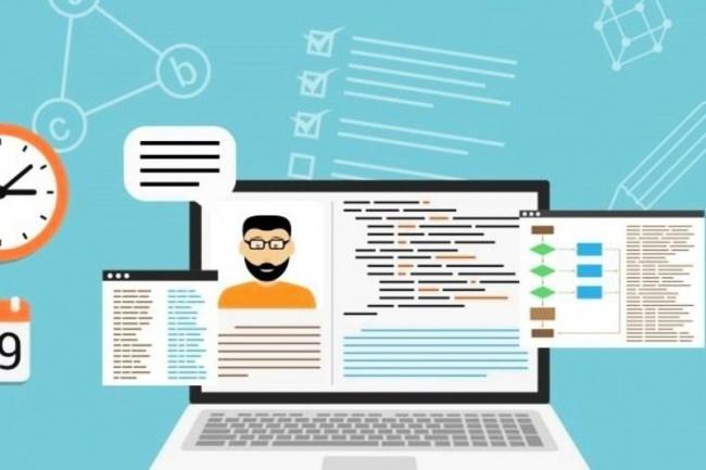 Создам одностраничный сайт-визитку и т. д. Html, css, javascript 1 - kwork.ru