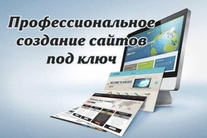 Создание сайтов под ключ 1 - kwork.ru