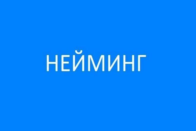 Нейминг без лишних слов. Создаем бренды 1 - kwork.ru