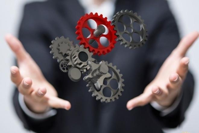 Описание бизнес-процессов на предприятииМенеджмент проектов<br>Быстро и качественно систематизирую бизнес-процессы Вашего бизнеса. Подготовлю карту бизнес-процессов.<br>