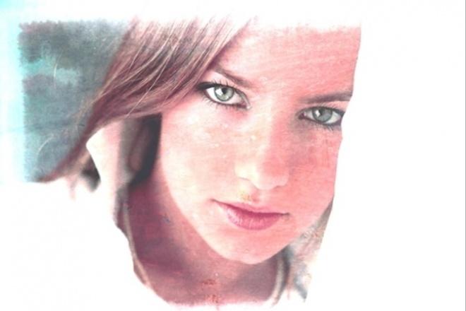 сделаю портрет в цифровом формате по вашей фотографии 1 - kwork.ru