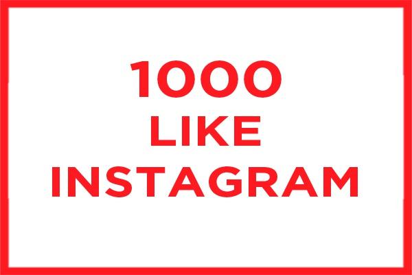 1000 лайков в инстаграм 1 - kwork.ru