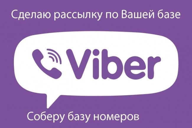 Сделаю рассылку на Viber 1 - kwork.ru