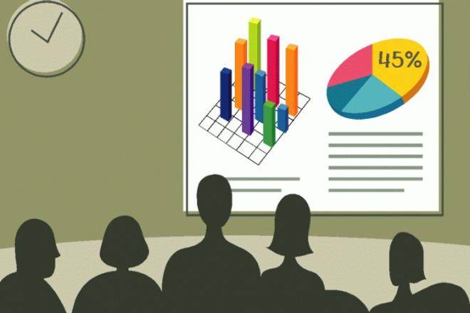 Сделаю презентациюПрезентации и инфографика<br>Сделаю презентацию на любую тему. Оформлю исходя из ваших рекомендаций. Гарантирую ответственный подход.<br>