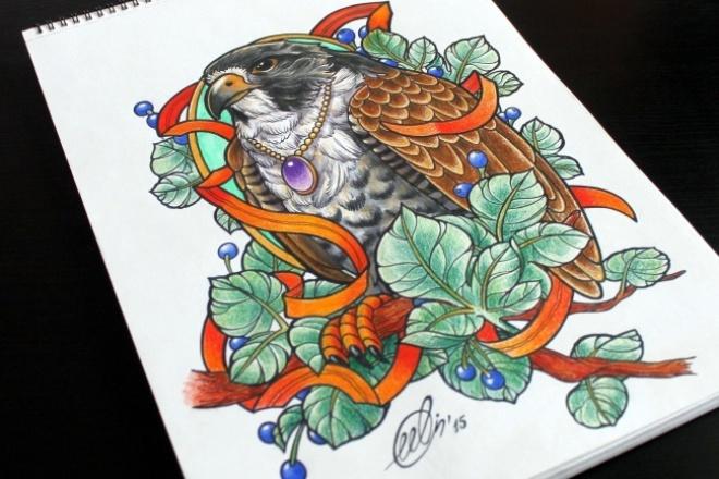 Максимально точно подберу 10 экизов татуировки по вашему описанию 1 - kwork.ru