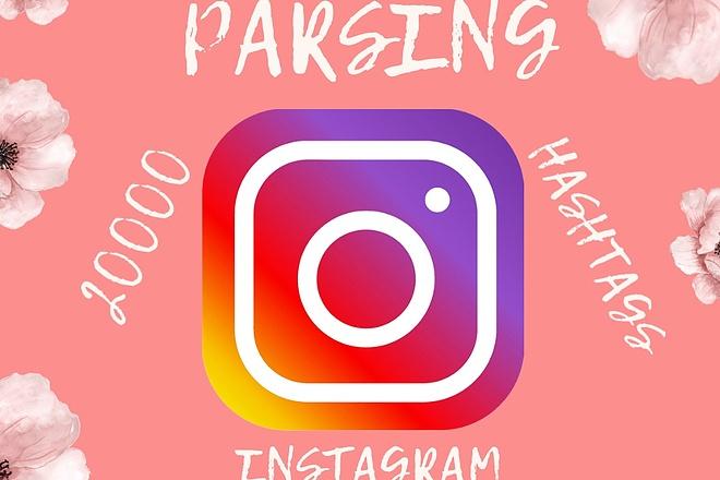 Парсинг целевой аудитории Instagram 1 - kwork.ru