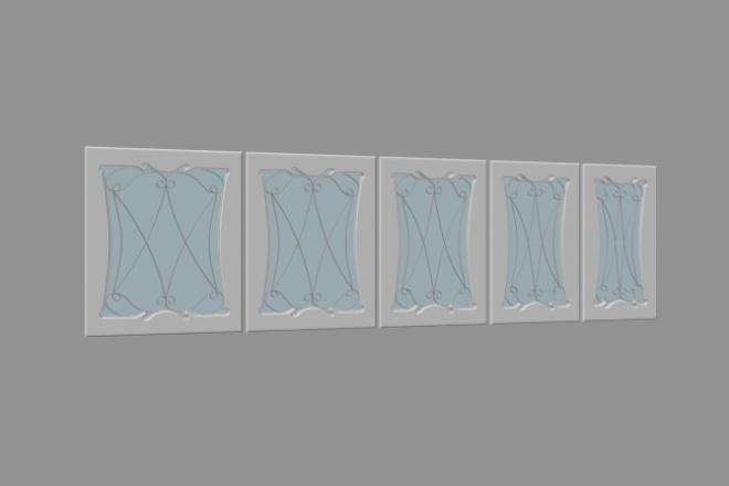 смоделирую простой 3D-объект по вашим чертежам или фото 1 - kwork.ru