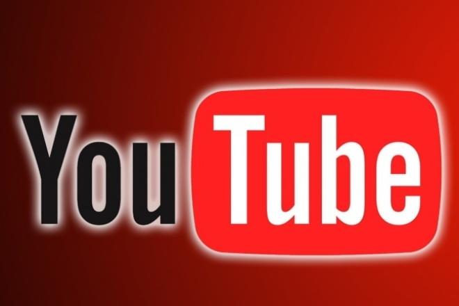 Оформлю ваш канал на You Tube 1 - kwork.ru
