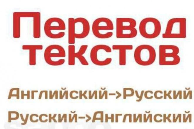 Переведу любой текстПереводы<br>перевожу тексты с английского на русский и наоборот. Имею квалификацию переводчика. Сделаю быстро и качественно.<br>