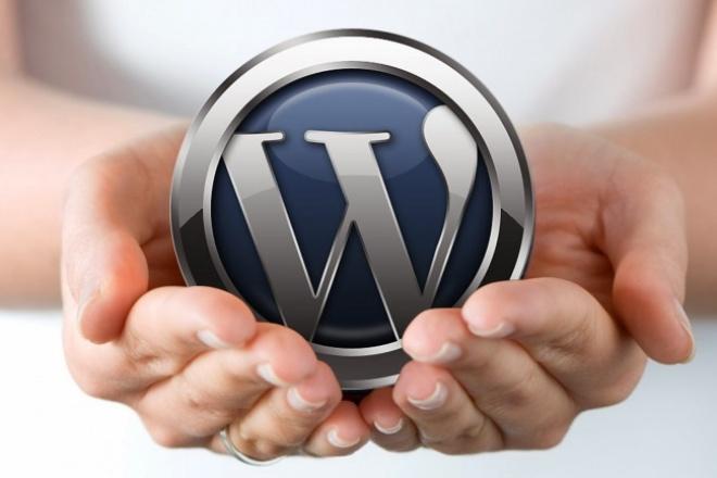 Установка CMS WordPress на хостинге 1 - kwork.ru
