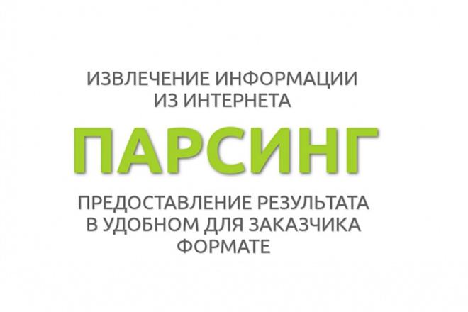 Извлеку email адреса и URL адреса из текста 1 - kwork.ru