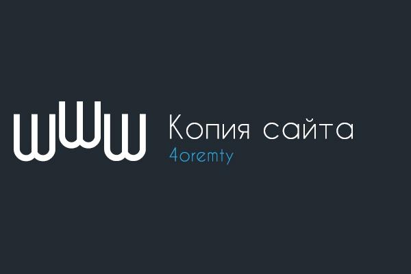 Копия landing page или любой страницы сайта 1 - kwork.ru