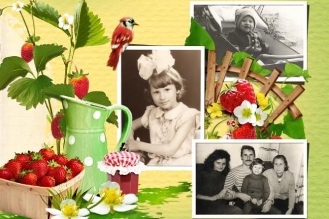 Создание макетов фотокниг, календарей и открыток с фотоФотомонтаж<br>Любые работы в Photoshop - создание фотокниг, выпускных альбомов, коллажей, поздравительных открыток, костюмированных фотографий.<br>