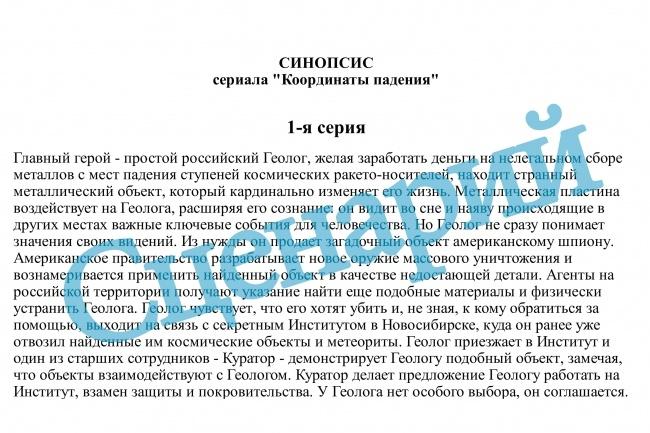 Сценарий видеоролика, рекламы, фильма 1 - kwork.ru