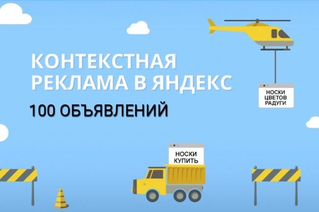 100 объявлений, 1 ключ - 1 объявление + РСЯ 1 - kwork.ru