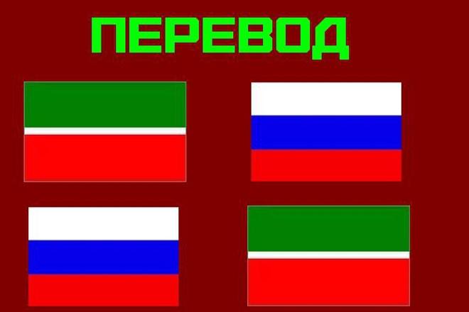 Переведу текст с татарского языка на русский и наоборот 1 - kwork.ru