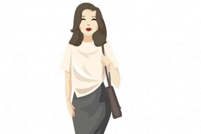 Создам векторный персонаж 1 - kwork.ru