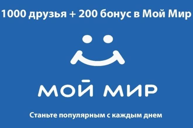 Друзья в Моем Мире 1 - kwork.ru
