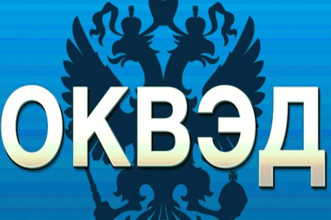 Добавление или изменение оквэд 1 - kwork.ru