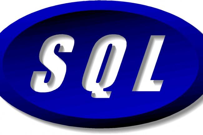 Напишу скрипты для БД на SQL 1 - kwork.ru