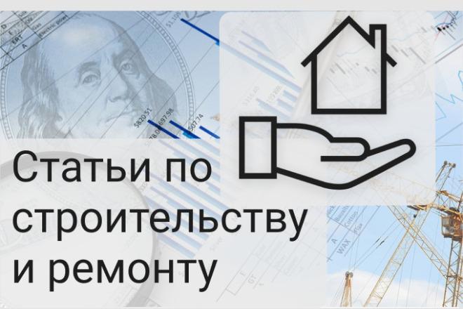 Статьи на строительную тематику 1 - kwork.ru