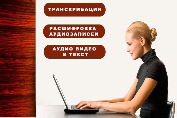 Транскрибация из аудио, видео в текст, английский 1 - kwork.ru