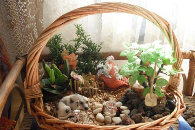 Коллекция фото красивых дизайнов мини-садиков 1 - kwork.ru