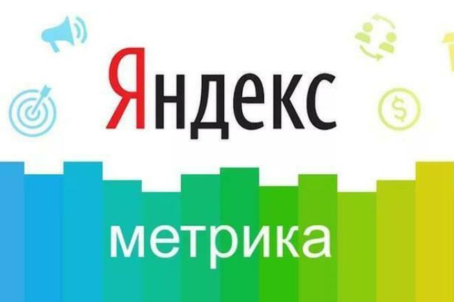 Установлю счетчик Яндекс Метрики на сайт+настрою Цели+ полезные Бонусы 1 - kwork.ru
