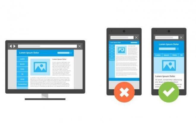 Адаптация сайта под мобильные устройстваВерстка и фронтэнд<br>Адаптация сайта под мобильные устройства и планшеты, либо адаптация одной страницы в том случае, если шаблоны разделов слишком разные. Соответствие тестам Google - http://www.google.com/webmasters/tools/mobile-friendly/ Переделка меню, оптимизация изображений, форм, текста, кнопок.<br>