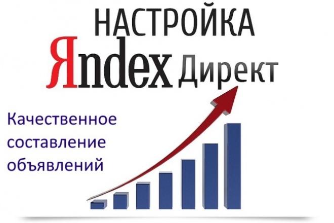 Настрою компанию и напишу 20 объявлений для Яндекс.Директ под Ваши ключи 1 - kwork.ru