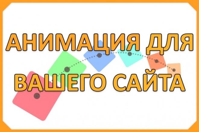 Анимация для Вашего сайта 1 - kwork.ru