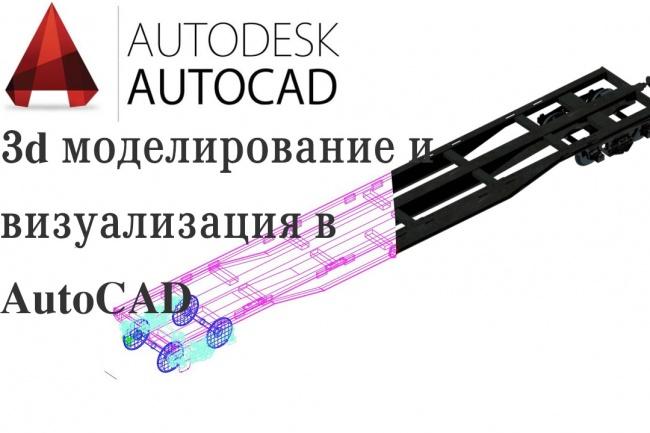 Создание 3D моделей по вашим эскизам, чертежамФлеш и 3D-графика<br>Создам 3D модель по вашим данным (эскизу, наброску, чертежу). Экспортирую результат в нужном вам формате - .dwg, .obj, .3ds, .c4d.<br>