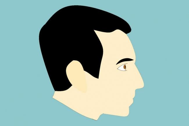 Нарисую минималистичные картинки 1 - kwork.ru