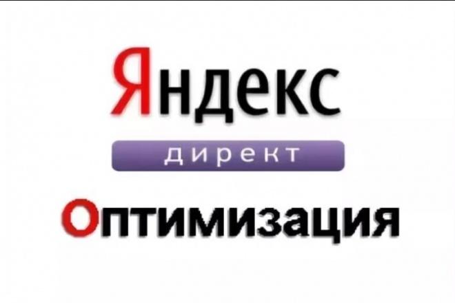 Оптимизация не эффективной рекламной компании Яндекс.Директ 1 - kwork.ru