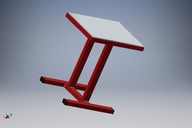 Создам 3D модель/сборкуФлеш и 3D-графика<br>Создам 3D деталь/сборку. Подготовлю файлы для лазерной/фрезерной ЧПУ резки и 3D печати. Помогу изготовить прототип изделия. Поучаствую в интересном проекте. Есть фото/видео готовых изделий.<br>
