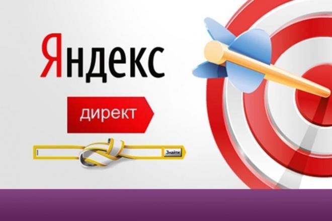 Реклама в Яндекс. Директ 1 - kwork.ru
