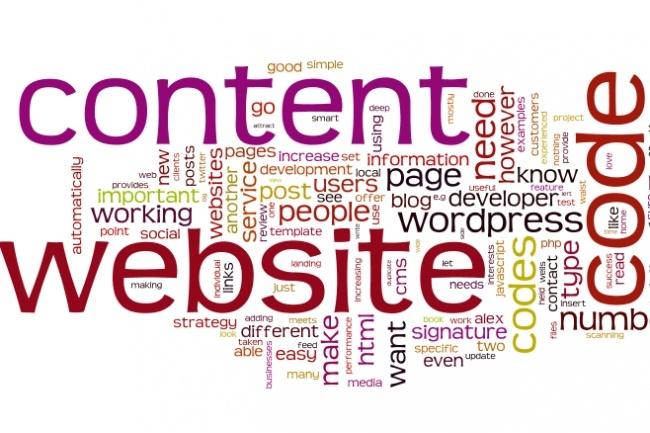 Добавлю на сайт контентНаполнение контентом<br>Об этом кворке Выполню наполнение сайта, с подбором тематических картинок и оформлением. Либо же загружу на сайт уже готовые ваши статьи с картинками. Кратко что получите: Оформление статьи (форматирование, подзаголовки) Поиск тематических изображений (наложение водяных знаков, ресайз и т. д. , если требуется) Публикация Ответственно подхожу к делу, есть опыт ведения своих проектов.<br>