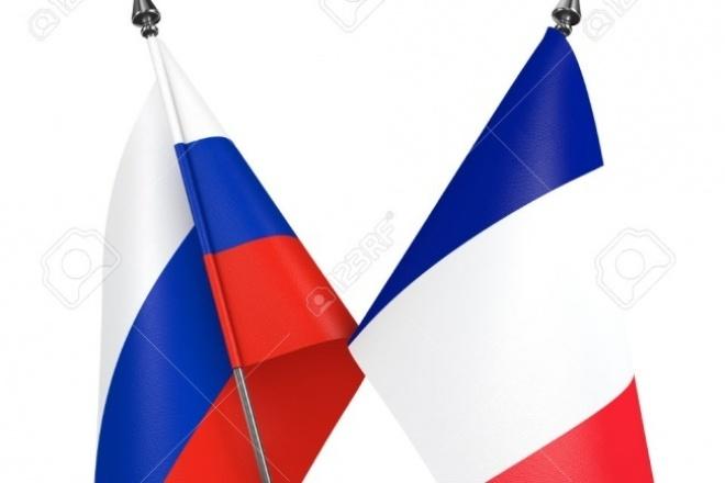 переведу текст с французского языка на русский и наоборот 1 - kwork.ru