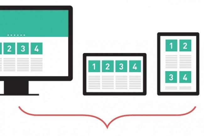 Адаптивная верстка лендинга на 4 экрана из PSD макета в HTML и CSS 1 - kwork.ru
