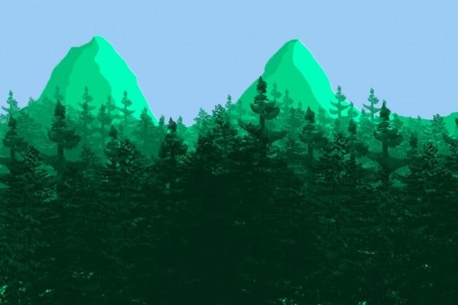 Нарисую красивый пейзаж в фотошопе 1 - kwork.ru