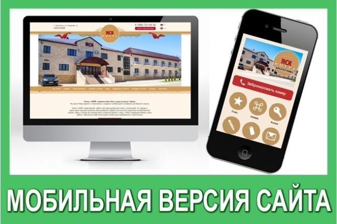 Разработаю и сверстаю мобильный сайт 1 - kwork.ru