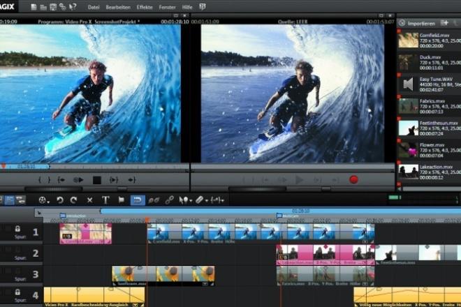 Смонтирую видеороликВидеоролики<br>Создам видеоролик из вашего материала. Могу также использовать в работе свою подборку фотографий, отснятого видео (пейзажи и пр.). Наложение музыки, монтаж.<br>