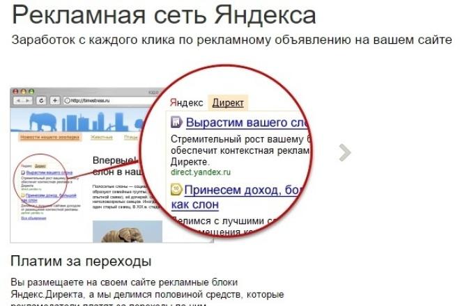 Настрою Рекламную Сеть Яндекса 1 - kwork.ru