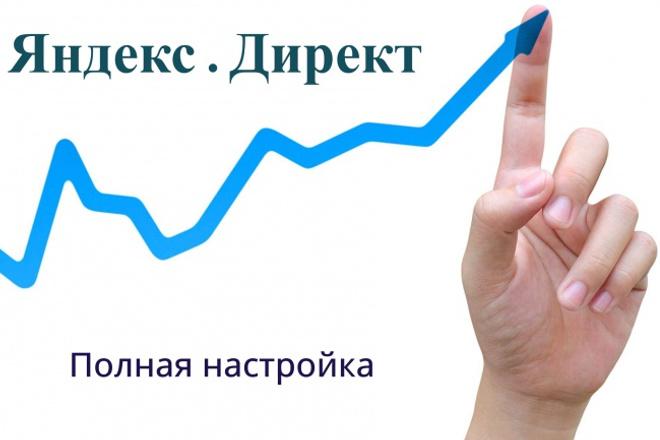 Создам и настрою РК в Яндекс.Директ 1 - kwork.ru
