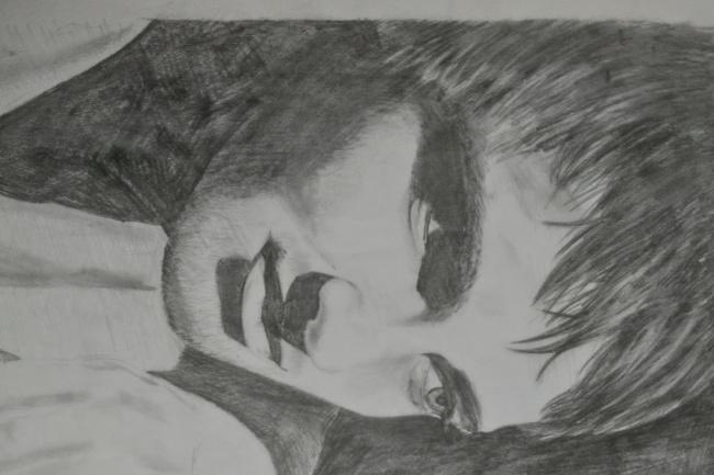 Рисую портреты графитовым карандашом 1 - kwork.ru